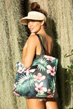 ALOHA Collection DAY TRIPPER TOTE | HIBISCUS/PALM