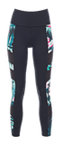 Hibiscus Palm | Nalani Track Legging - WITH LOVE FROM PARADISE