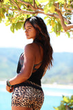 Leopard | Malia Short - WITH LOVE FROM PARADISE