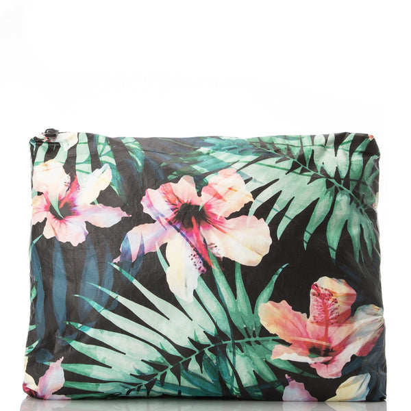 ALOHA Collection MAX POUCH | HIBISCUS/PALM - WITH LOVE FROM PARADISE