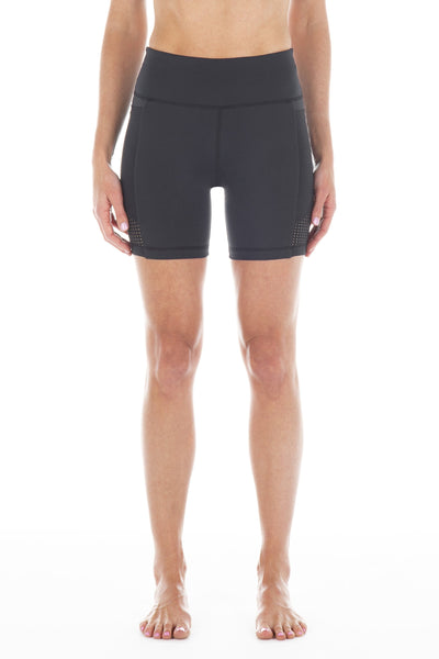 Black | Iolani Bike Short