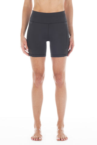 Black | Iolani Biker Short