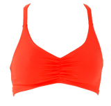 Tangerine | Athletic Y Sports Bralette - WITH LOVE FROM PARADISE