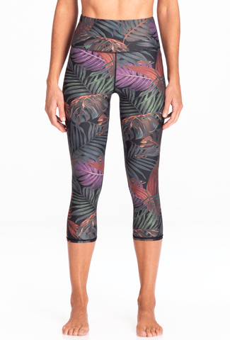 Hawaiian Jungle | Kailani High Waist Capri