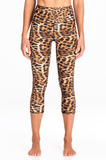 Leopard | Kailani High Waist Capri - WITH LOVE FROM PARADISE