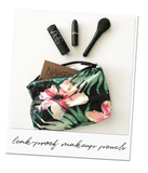 ALOHA Collection SMALL POUCH | HIBISCUS/PALM - WITH LOVE FROM PARADISE