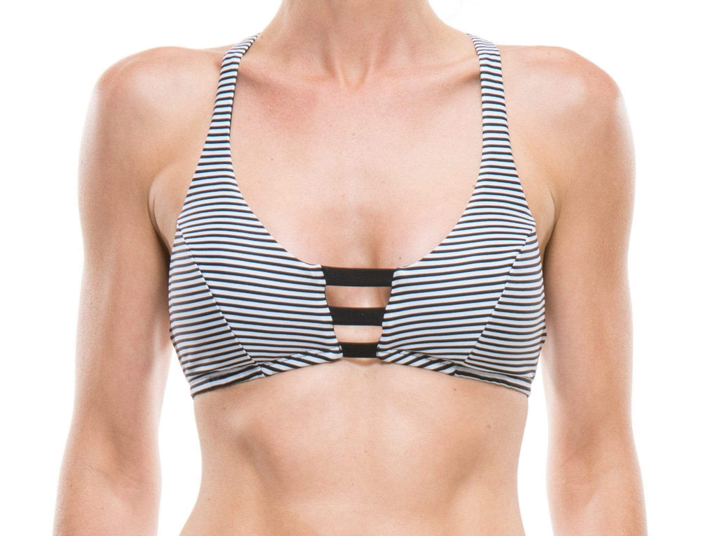 Sporty swim top