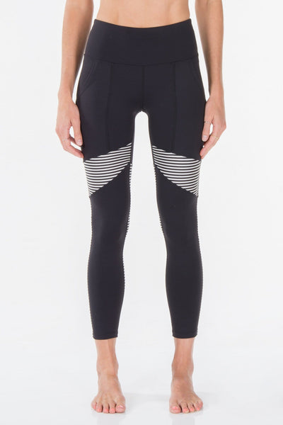 BLACK + STRIPE | LEGGING