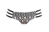 Tribal | Tri Strap Bikini Bottom - WITH LOVE FROM PARADISE
