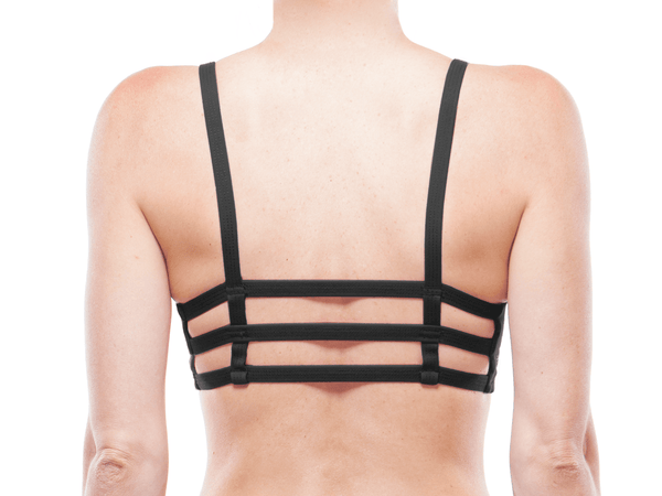 Back | BLACK | ACTIV TRIPLE STRAP BRALETTE