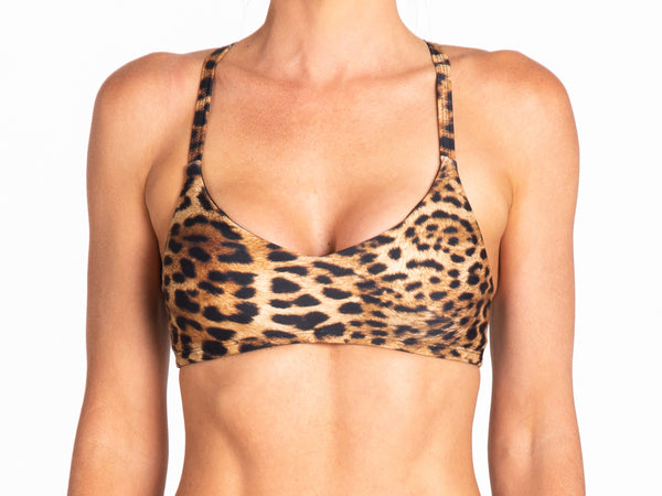 Leopard | Luana Top - WITH LOVE FROM PARADISE