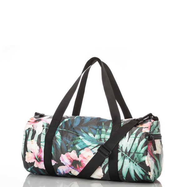 ALOHA Collection MINI DUFFLE BAG | HIBISCUS/PALM