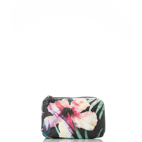 ALOHA Collection MINI POUCH | HIBISCUS/PALM