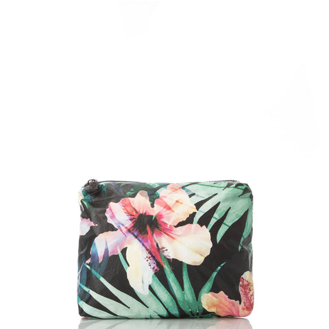ALOHA Collection SMALL POUCH | HIBISCUS/PALM