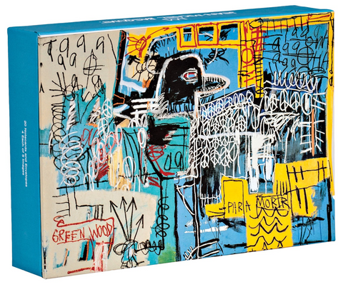 Jean-Michel Basquiat FlipTop Notecard Box - The Brant Foundation Shop