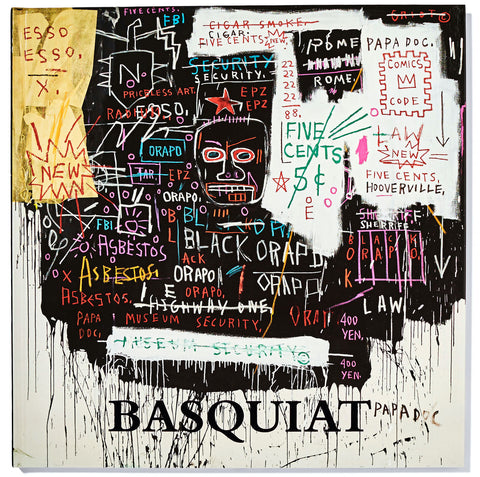 Basquiat: Museum Security (Broadway Meltdown)