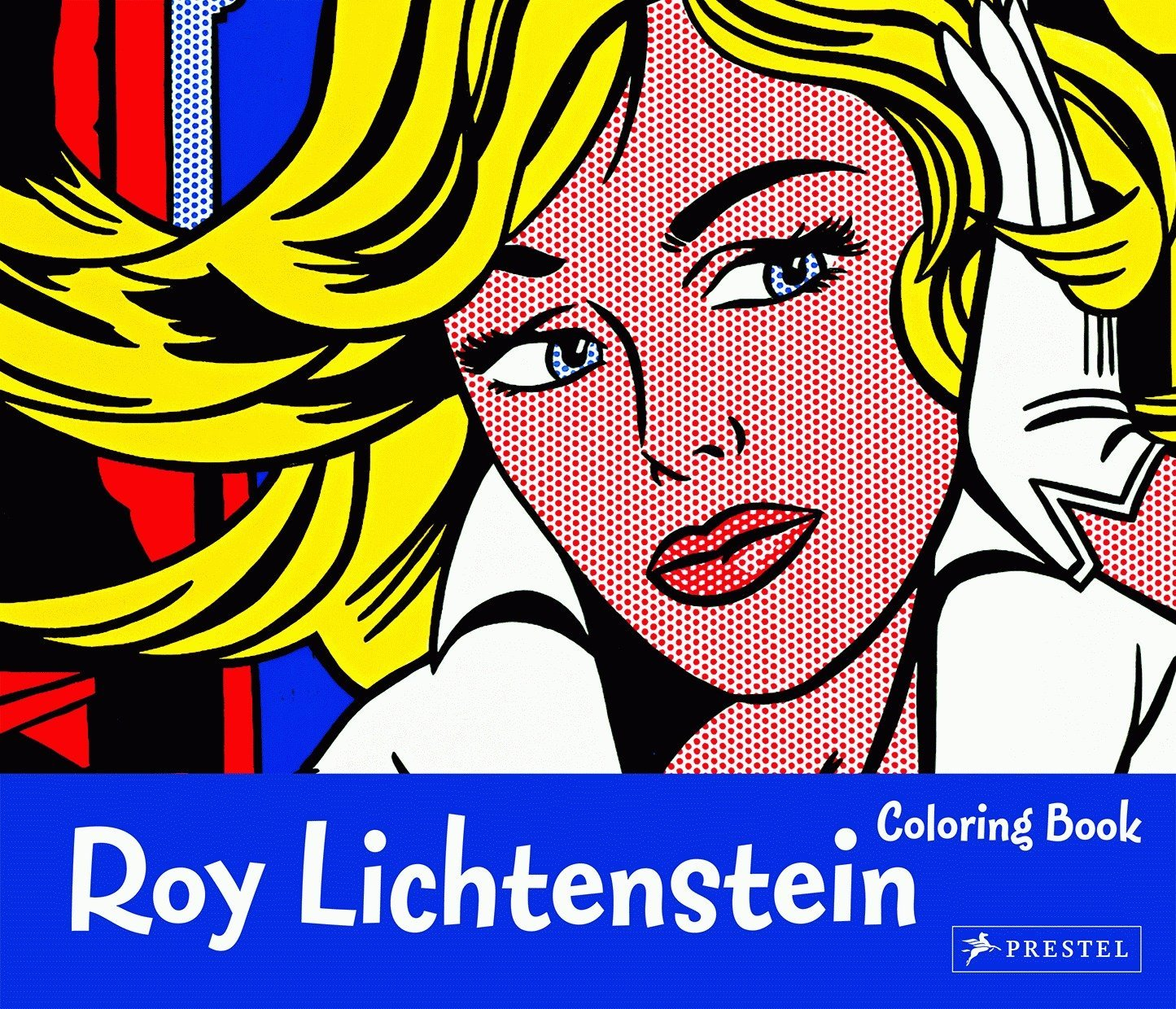 Roy Lichtenstein Coloring Book - The Brant Foundation Shop