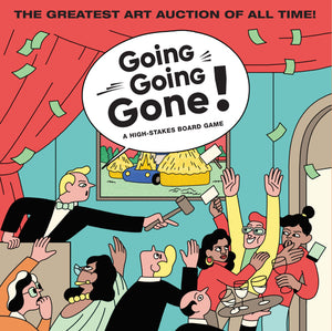Going, Going, Gone! Board Game - The Brant Foundation Shop