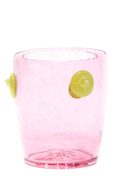 Bubba Glass in Pink Zest - The Brant Foundation Shop