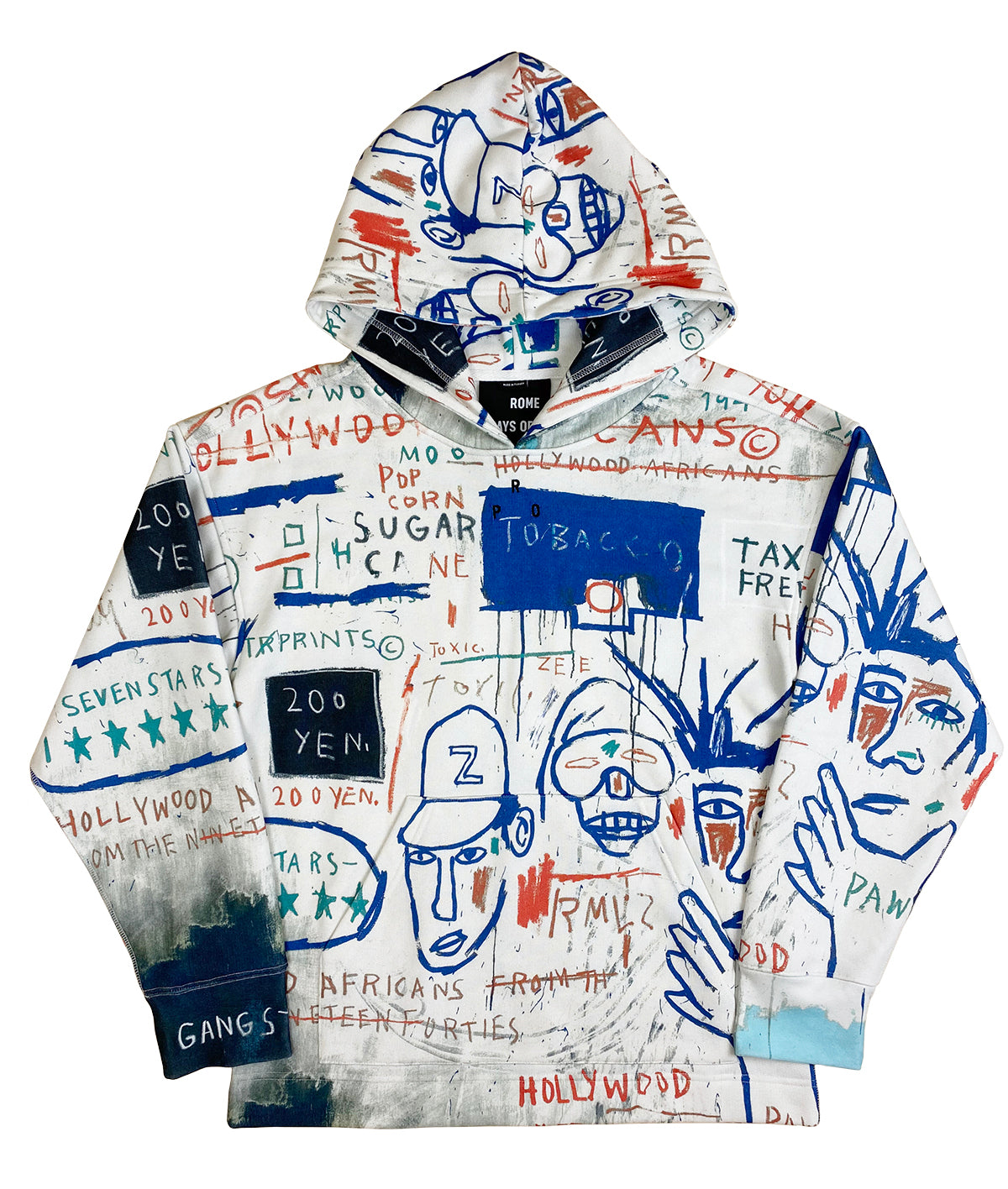 Basquiat Hoodie Hollywood Africans Adult Unisex