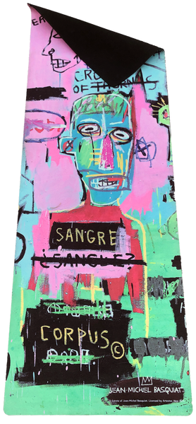"Jean-Michel Basquiat ""In Italian"" Yoga Mat - The Brant Foundation Shop"