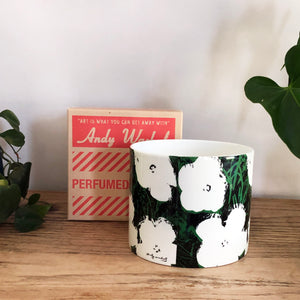 Andy Warhol Large Flowers Candle