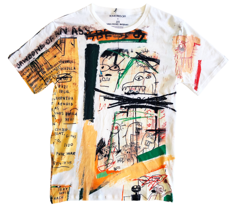 Basquiat t-shirt allover print