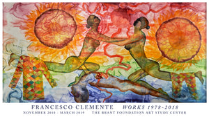 Francesco Clemente: Works 1978-2018 Exhibition Poster - The Brant Foundation Shop