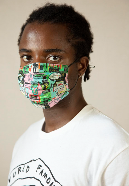 Basquiat Face Mask