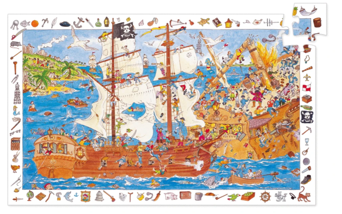 Djeco Observation Pirate Puzzle