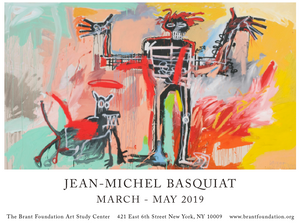 Jean-Michel Basquiat Exhibition Poster