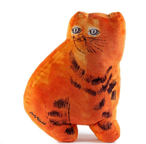 Andy Warhol Sam the Cat Orange Plush - The Brant Foundation Shop