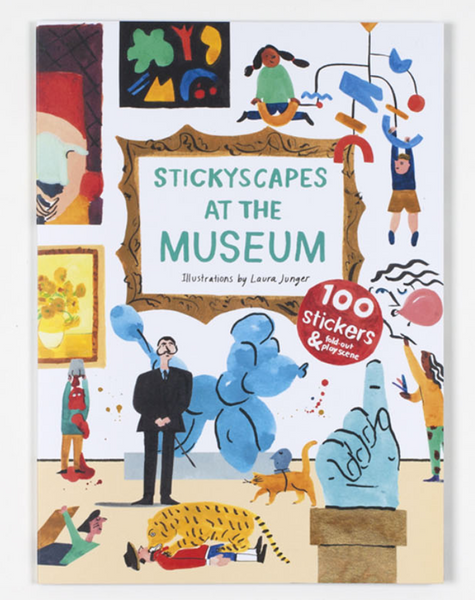 Stickyscapes at the Museum - The Brant Foundation Shop