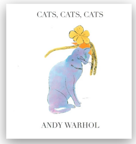 Cats, Cats, Cats by Andy Warhol - The Brant Foundation Shop