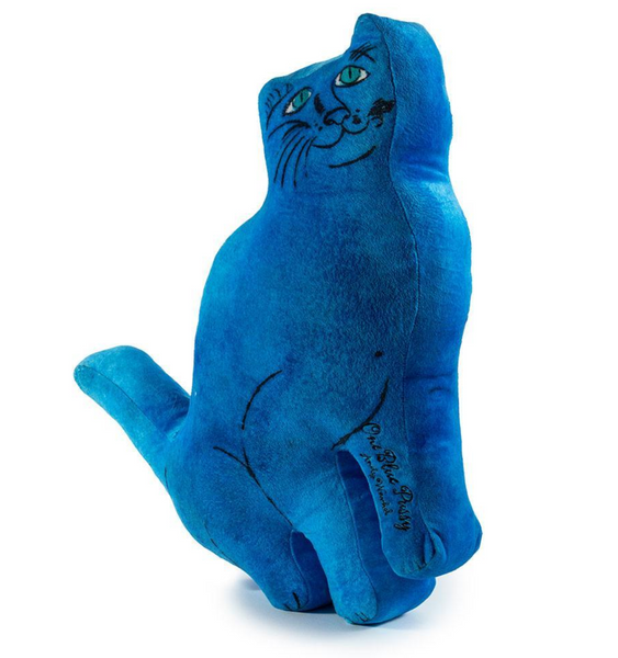 Andy Warhol One Blue Pussy Cat Plush - The Brant Foundation Shop