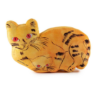 Andy Warhol Yellow Sam the Cat Plush - The Brant Foundation Shop