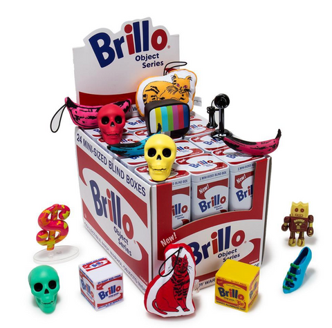 Andy Warhol Brillo Blind Box - The Brant Foundation Shop
