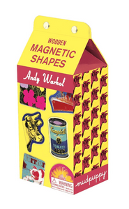 Andy Warhol Wooden Magnetic Shapes Kit