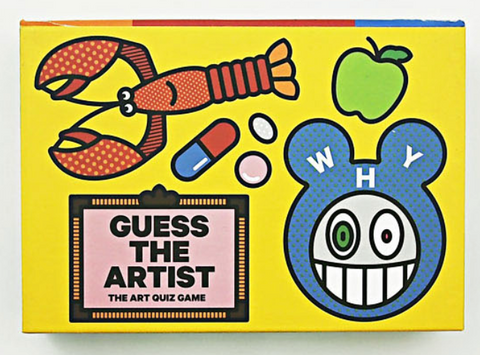 Guess the Artist Card Game - The Brant Foundation Shop