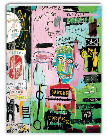 "Jean-Michel Basquiat ""In Italian"" Notebook - The Brant Foundation Shop"