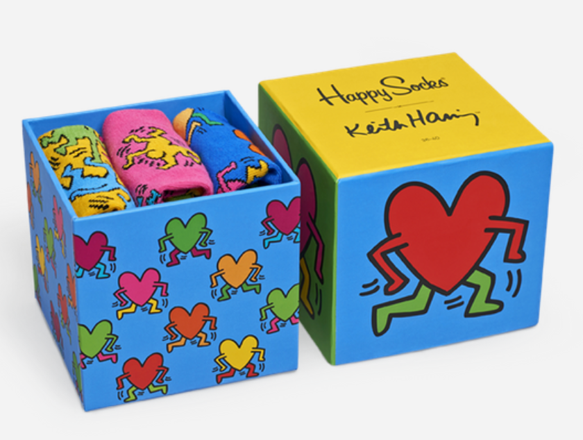 Keith Haring Sock Set - The Brant Foundation Shop