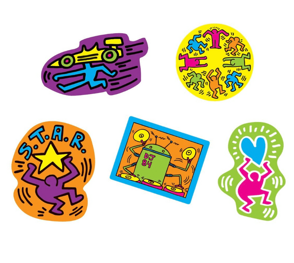 Keith Haring Wooden Magnetic Shapes - The Brant Foundation Shop
