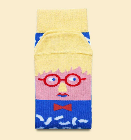 "David Hockney - ""Sock-Knee"" Socks"