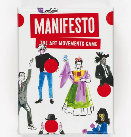 Manifesto: The Art Movements Game - The Brant Foundation Shop