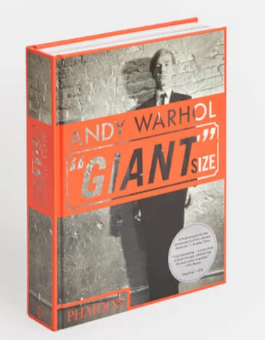 "Andy Warhol ""Giant"" Size Book - The Brant Foundation Shop"