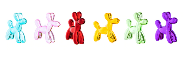 Balloon Dog Ornaments (Set of 6) - The Brant Foundation Shop
