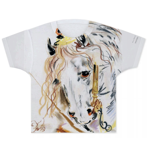 Karen Kilimnik 'Princess Horse' T-Shirt (Kids) - The Brant Foundation Shop