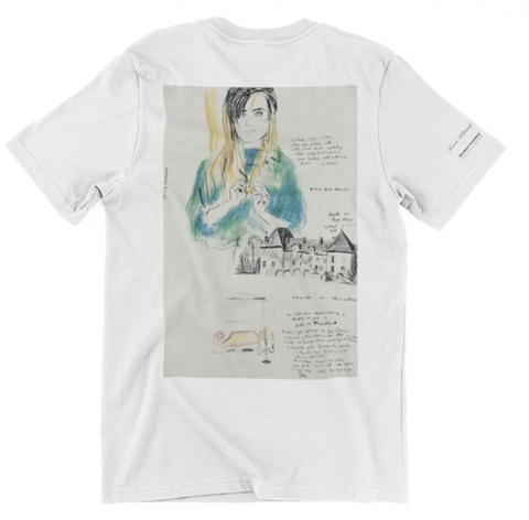 Karen Kilimnik 'Death on Thursday' Unisex T-Shirt - The Brant Foundation Shop