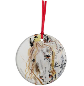 Karen Kilimnik 'Princess Horse' Ornament - The Brant Foundation Shop
