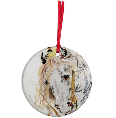 Karen Kilimnik 'Princess Horse' Ornament
